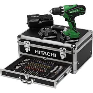 [ZackZack] Hitachi DS18DJL Akku-Bohrschrauber inkl. Koffer + 2 Akkus 1.5Ah + Zubehör für 169,90€ - 22% Ersparnis