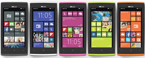 Amazon: BLU Win JR LTE Smartphone (8GB Speicher / 4.5 Zoll / Windows 8.1 ) für 59,79€