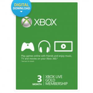 [CDKeys] 3 Monate Xbox Live Gold Mitgliedschaft für 9,47€
