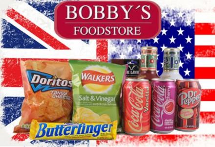 """""""Bobby's Foodstore"""": 10 € Wertgutschein um 5 € - auf alkoholfreie Getränke - bis zu 50% sparen"""