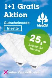 """[Mömax] 1+1 Gratis - """"Irisette"""" Einziehdecken um 25 €"""