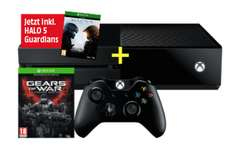 [MediaMarkt] Xbox One 500 GB + Gears of War Ultimate (DLC) + Halo 5 Guardians ( Vorbestellung) für 348,99€