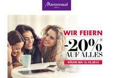"Marionnaud: 20% auf Alles - ""Womay Day"" ab sofort gültig"