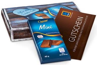 (Top) Gratis Schokoladen-Tafel und Buttertopfengolatsche - bei Probiermal.at