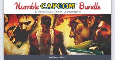 Humble Capcom Bundle - Bis zu 8 Spiele ab 0,88€