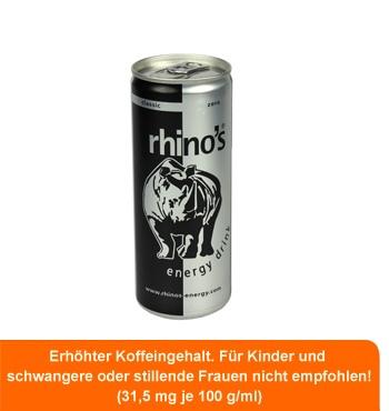 Rhino's Energy Zero nur € 0,69