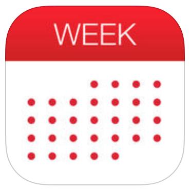 """""""Week Calendar"""" kostenlos für iPad - 3,99 € sparen"""