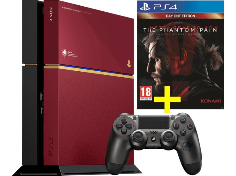 "PlayStation 4 - Limited Editon ""The Phantom Pain"" (CUH-1216) um 309 € - 28% sparen"
