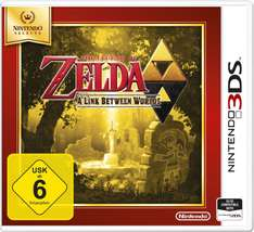 [Amazon.de] 3DS Nintendo Selects Games reduziert; zB Zelda: A Link Between Worlds ab 15,99€ ( Prime)