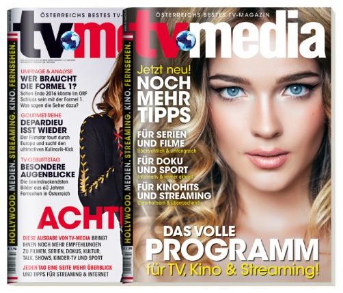 TV-Media - 2 Ausgaben komplett kostenlos - kein Abo