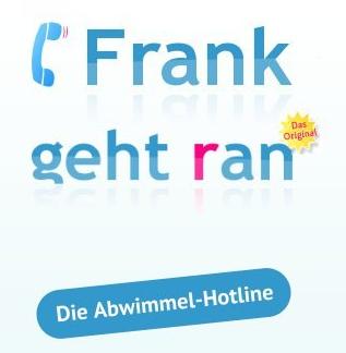 """(Tipp) """"Frank geht ran"""" - persönlicher Assistent gegen unerwünschte Anrufe"""