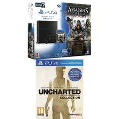 [Amazon.fr] PS4 Bundles im Angebot; zB PS4 1TB (neue Rev.) + AC Syndicate + Uncharted: Nathan Drake Collection + Watch Dogs für 403,79€