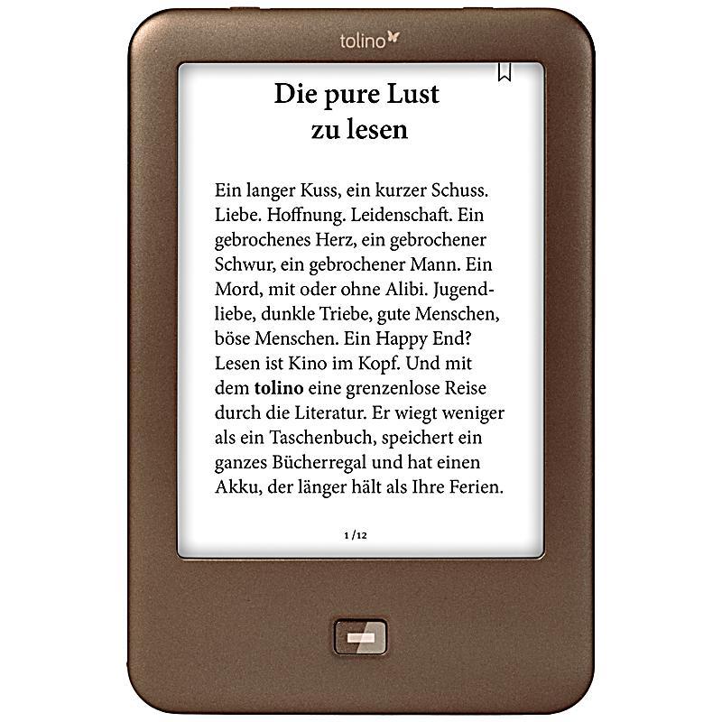 tolino shine eBook-Reader - um 44€ inkl. VSK - nur heute!