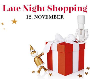 Designer Outlet Parndorf Christmas Late Night Shopping am 12. November - Designermarken mit bis zu 80% Rabatt