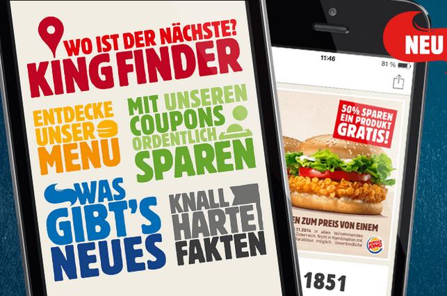 @burgerking App Gutscheine bis 30.Nov.2015