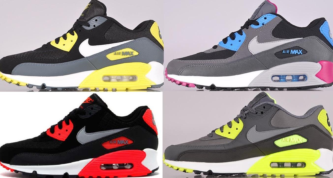 NIKE AIR MAX 90 Essential Running Herren CLASSIC Free Schuhe Sneaker Turnschuhe