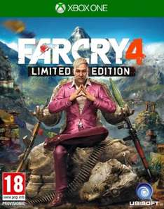 Far Cry 4: Limited Edition (FSK 18 PEGI) für die Xbox One für 13,52€ (Gameseek)