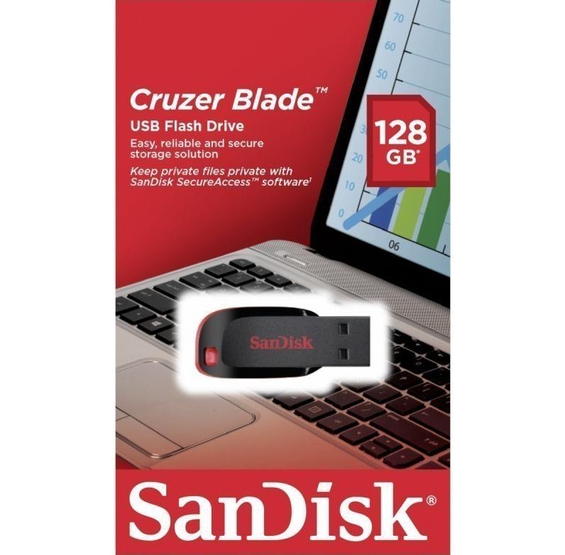 SanDisk Cruzer Blade (128 GB) USB 2.0 Stick um 25 € - bis zu 15% sparen