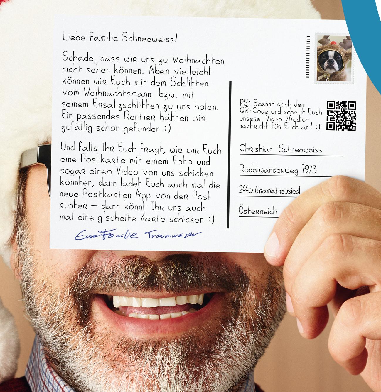 Post: Gratis Postkarte über das Smartphone verschicken - Weltweit!
