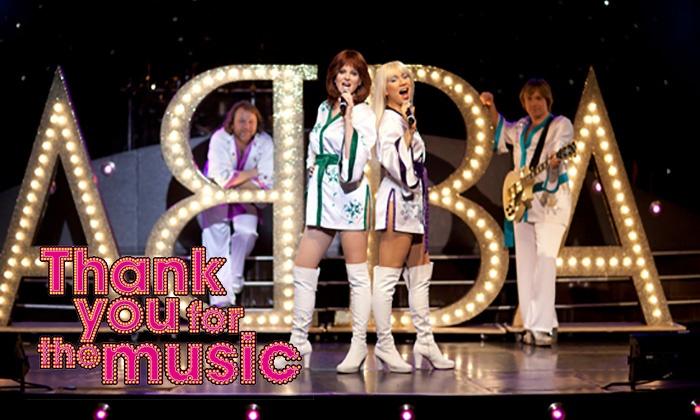 """2 Karten für das ABBA-Musical """"Danke"""" am 26.2.2016 - 50% Rabatt"""