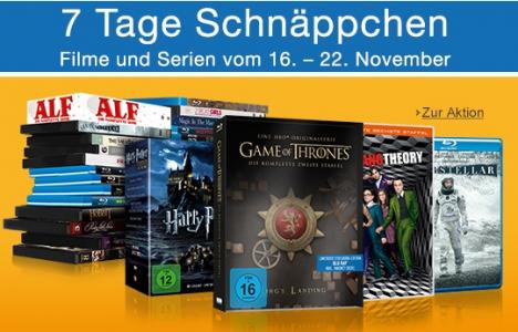 [Amazon] 7 Tage Film&TV Schnäppchen
