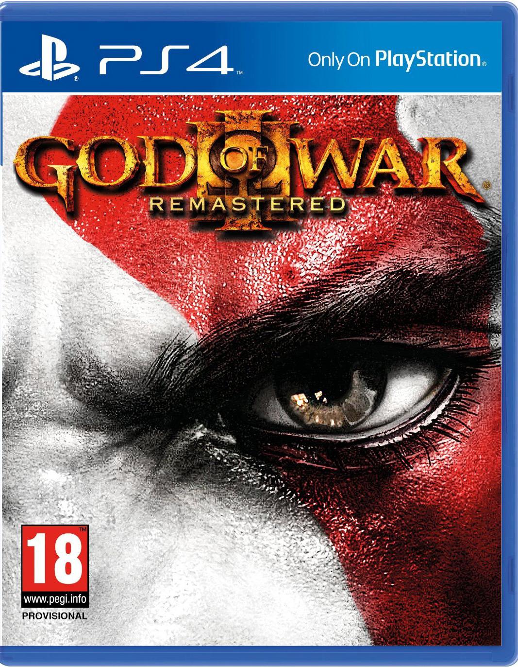God of War 3 Remastered Edition um €29,-
