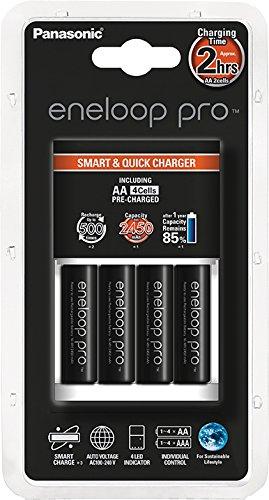 4x Eneloop Pro AA (2.450 mAh) + Schnellladegerät um 23,50 €
