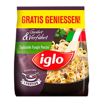 """Iglo """"Gerührt & Verführt"""" Feriggericht (fast) gratis testen - bis zu 2,99 € sparen"""