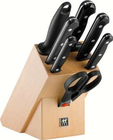 Zwilling Twin Chef Messerblock 8-teilig, natur