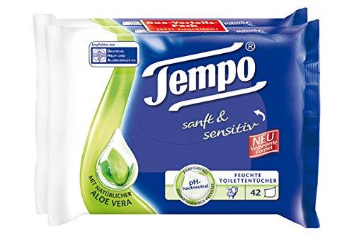 (Amazon Preisfehler) 4x Tempo feuchte Toilettentücher um 3,28 € - 59% sparen