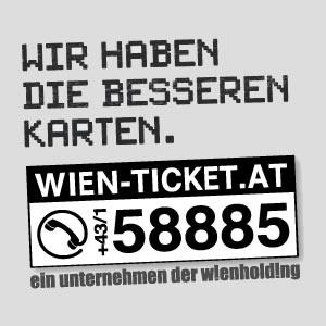 [Wien-Ticket] Auf viele Veranstaltungen -12% oder -24% - nur bis 26.12.2015