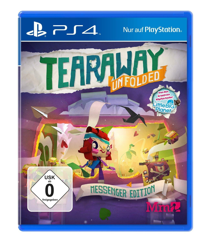 Amazon mit vielen Games-Schnäppchen - u.a. mit: Tearaway: Unfolded - Messenger Edition für 9,99€ / God of War 3 Remastered für 9,99€