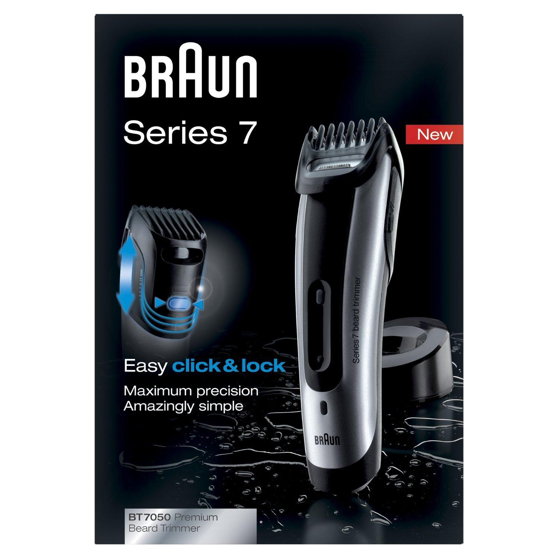 Amazon Braun Series 7 BT7050 Barttrimmer und Haarschneider (inklusive Präzisionstrimmer und Reiseetui)  um 39,35 € (Preisvergleich 47,44 € )