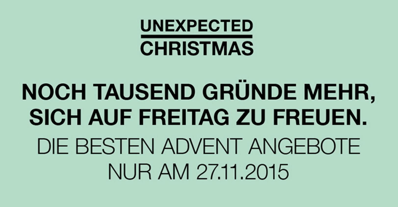 """[SCS] """"Unexpected Christmas"""" am 27.11, bis zu 70% Rabatt"""