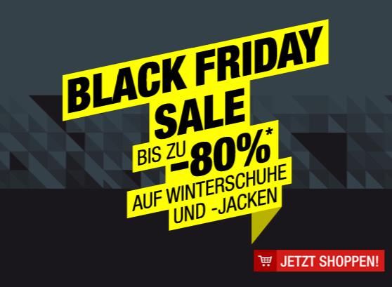 Hervis: -80% auf Winterschuhe und Jacken - Black Friday Deal