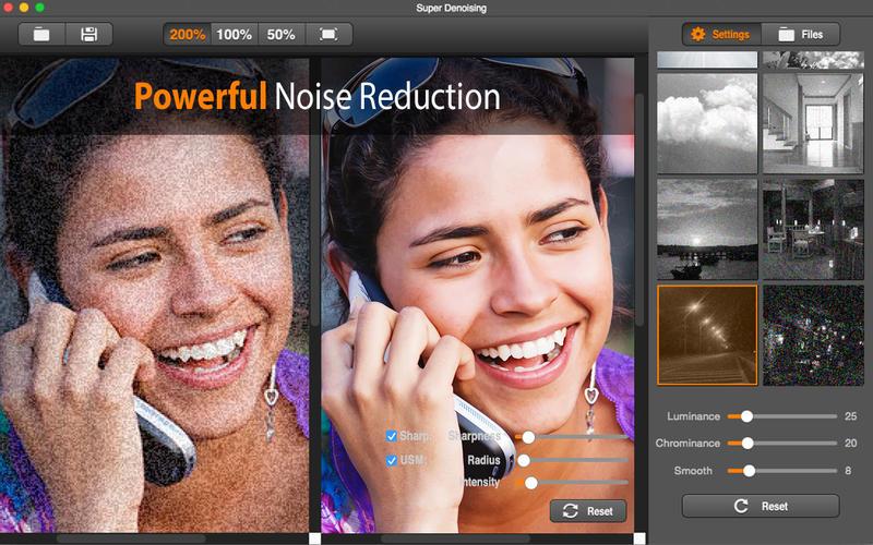 """(Mac OS X) """"Super Denoising"""" (Bildrauschen-Reduktion) kostenlos - statt 10 €"""