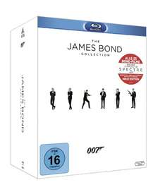Amazon Black Friday The James Bond Collection: Alle 23 Filme inkl. Leerplatz für Spectre um 99,99 € (Preisvergleich 119,99 € )