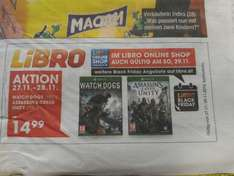 [Libro.at] Watch Dogs & Assassins Creed Unity für je 14,99€