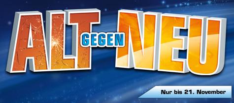 Alt gegen Neu Aktion bei Saturn Deutschland - 100€ Rabatt