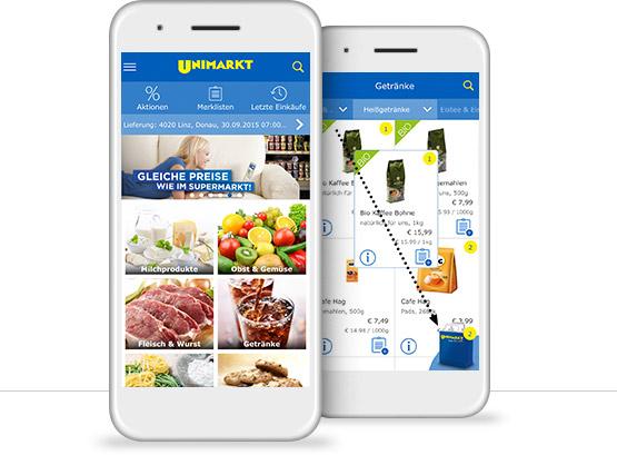 [Unimarkt] 5€ Gutschein bei in-App-Anmeldung