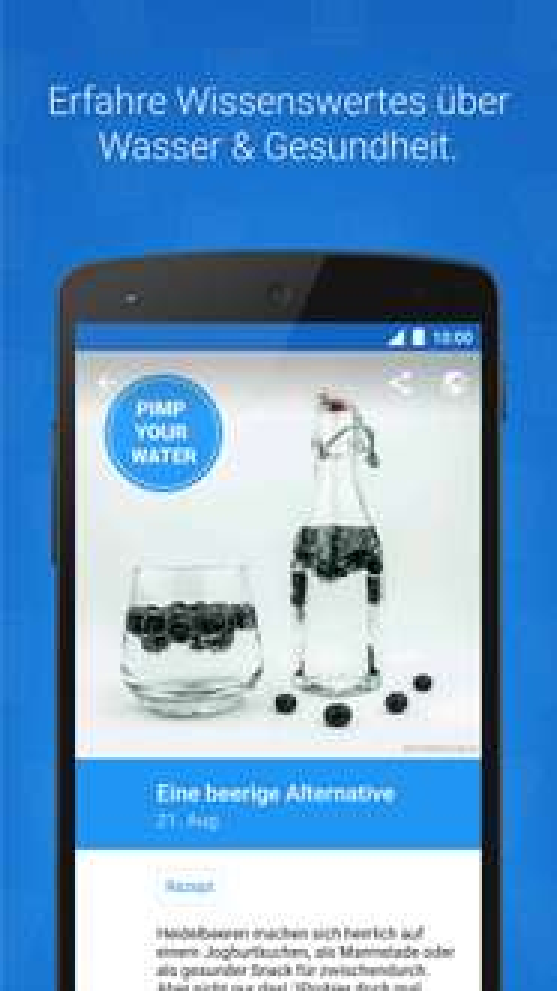 "Wasser-App ""Hydro Coach PRO"" gratis anstatt 3,49 €"
