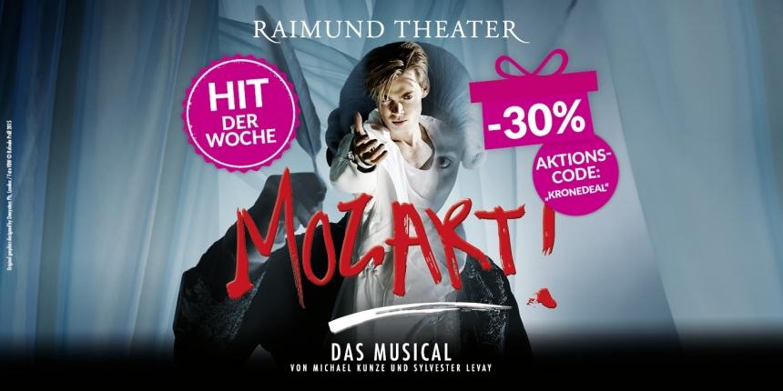 Mozart - Das Musical Tickets um -30%