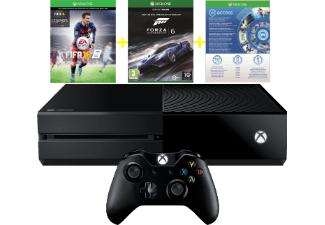 [Saturn.at] Xbox One 500GB mit FIFA 16 (DLC)+ 1 Monat EA Access + Forza Motorsport 6 für 294€