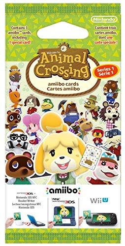 Amazon Amiibo Karten Pack Serie 1 gratis beim Kauf eines Animal Crossing: Happy Home Designer Spiels für Nintendo 3DS im Wert von 4,99 €