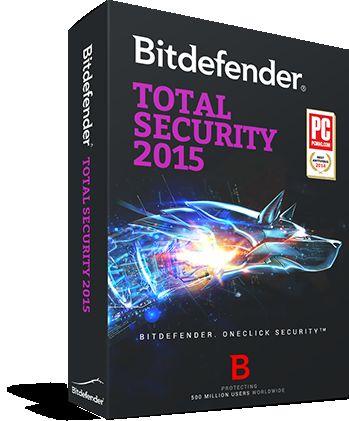 [Bitdefender] Total Security 2015 für 6 Monate verlängern