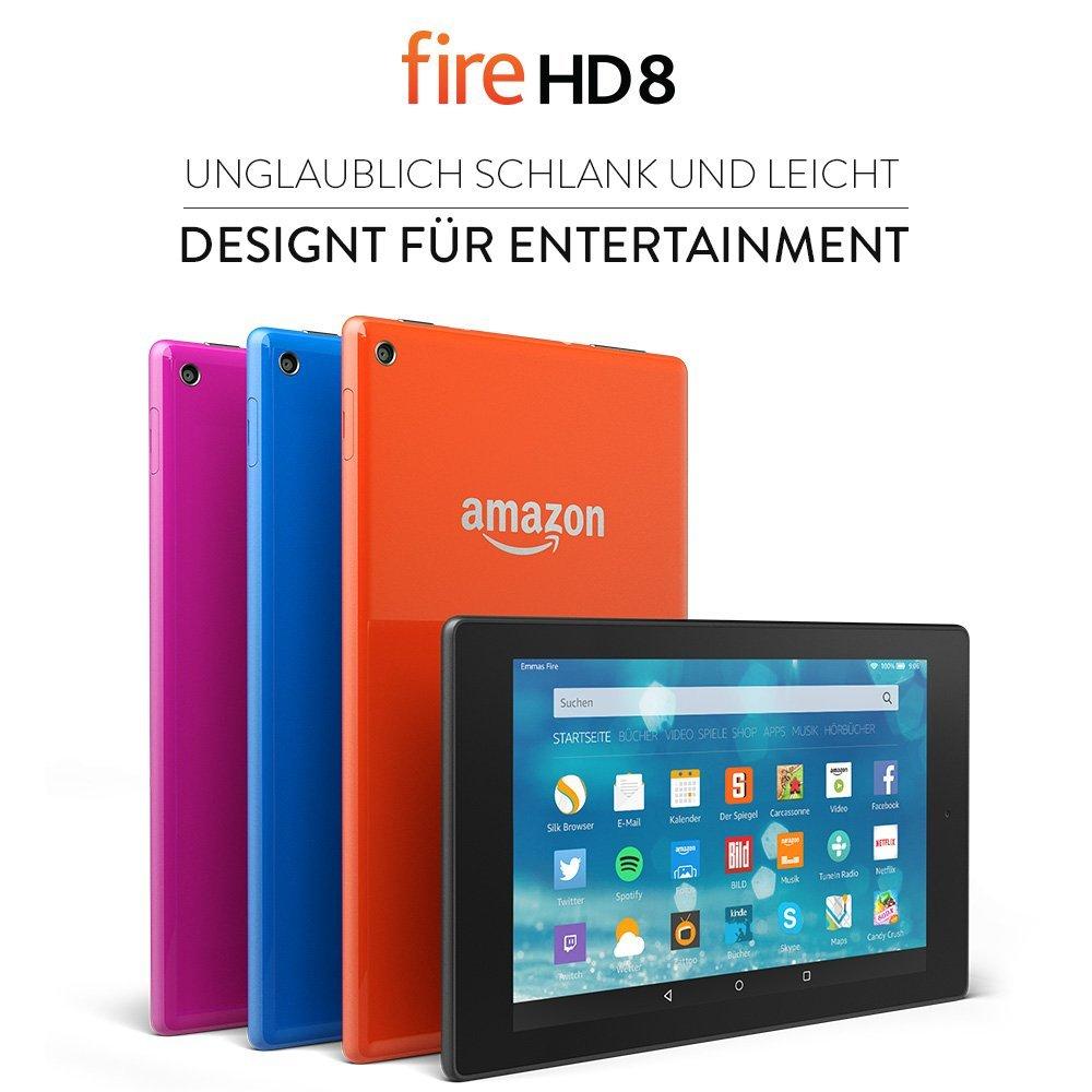 Amazon  Fire HD 8 ab 129,99 EUR statt 159,99 EUR