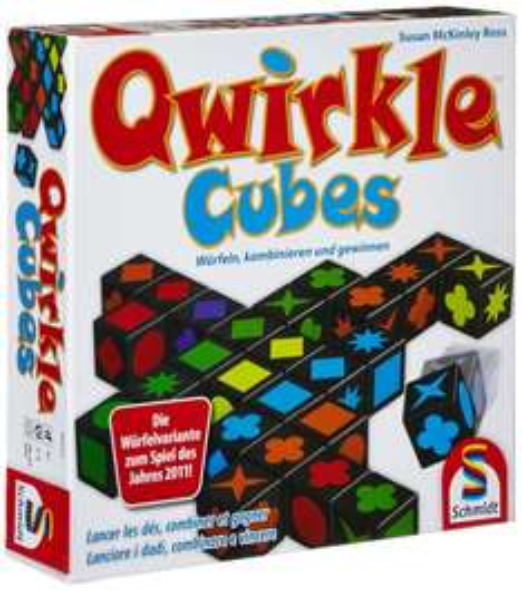 Amazon Schmidt Spiele - Qwirkle Cubes um 12,99 €  ( Preisvergleich 19,99 € )
