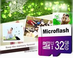 Microflash 32 GB SDHC Card[Banggood]