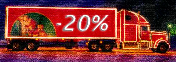 Top Umzug Weihnachtsangebot bis -20% auf Ihren Umzugspreis