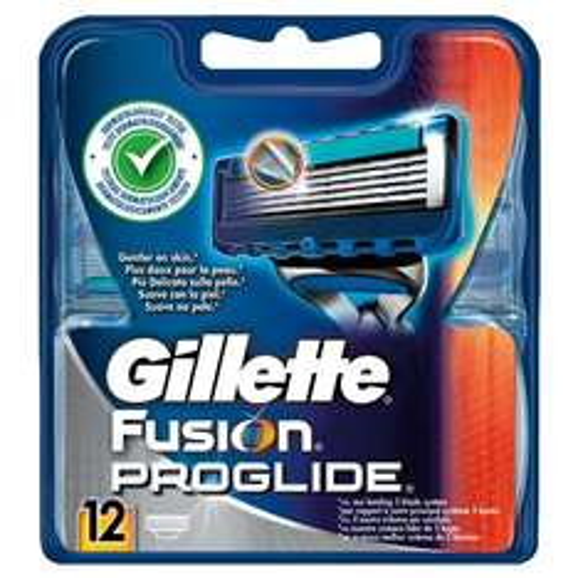 Amazon Gillette Fusion Proglide Rasierklingen, 12 Stück, Vorteilspack um 31,79 €  (Preisvergleich 37,90 € )